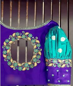 Cutwork Blouse Designs, Simple Blouse Designs, Embroidery Neck Designs, Blouse Back Neck Designs, Stylish Blouse Design, Indian Blouse Designs, Indian Embroidery, Traditional Blouse Designs, Hand Work Blouse Design