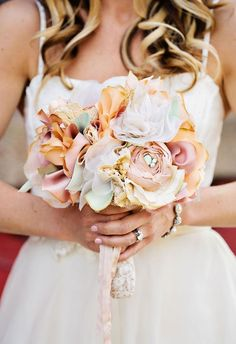 lovely cloth bouquet
