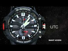Video: New G-Shock Design GW-A1000 series release at Baseworld 2012 WatchFair.