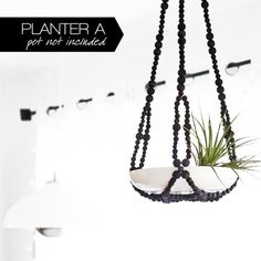 Modern Hanging Planter Collection Set of 3 Modern by HRUSKAA