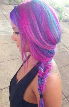 I wouldn't do this to my hair but I LOVE it!!