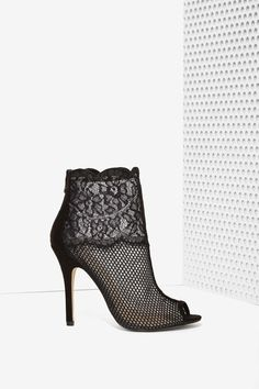 Jeopardy Lace Bootie | Shop What's New at Nasty Gal