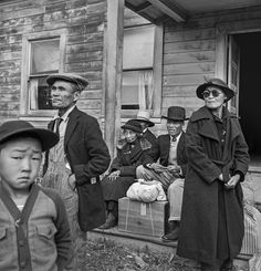 "During WWII, 120,000 Japanese-Americans were forced into camps, a government action that still haunts victims and their descendants. Then they were shipped to ten ""relocation centers,"" primitive camps built in the remote landscapes of the interior West and Arkansas = armed guards, barbed wire, roll call. Years later, internees would recollect the cold, the heat, the wind, the dust—and the isolation."