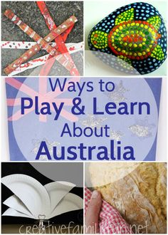 We loved learning about Australia so much for Project Around the World , that we did a few extra projects we found on other blogs. Luckil...