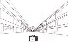Apprendre dessiner une maison avec quelques bases de for Apprendre a dessiner une maison en perspective