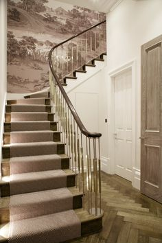Cocovara :: handrail, door and stair runner