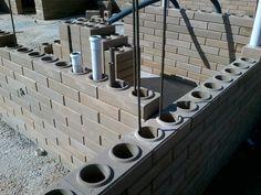 Sistema Hidráulico - Construção com tijolos ecológicos de solo-cimento