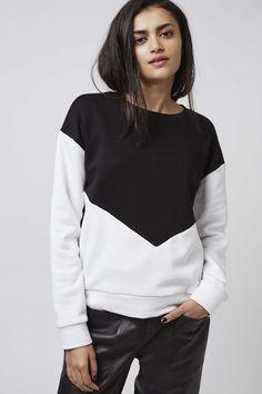 Photo 4 of Mono Colour Block Sweatshirt