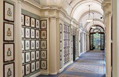 thefoodogatemyhomework:Now that is a gorgeous hall.   J Sloan Huntington-Nicewarner, Pfalzgraf Von ZlinSloan of Dallas