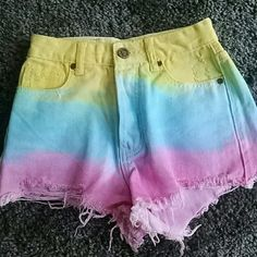 Unif Tie Dye Hangover Shorts NWOT Unif Tie Dye Hangover Shorts. Never worn. NWOT Willing to trade for UNIF or  Wildfox only UNIF Jeans