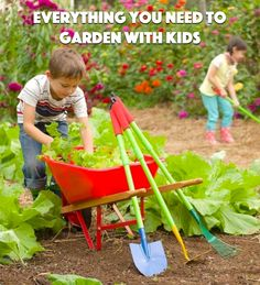 Turn gardening into a fun activity with your kids! Start by getting the kids excited and teaching them about the process of starting from seeds. Sow and Grow by Tina Davis is a wonderful book to kick things off. Head to the nursery with your children so they can see all the options and help choose which flowers and vegetables to plant. Pick up some child-size gardening tools that fit little hands. Read on as eBay helps you get started gardening with kids.