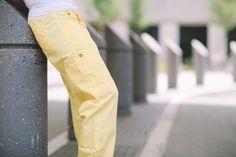 WonderWink Origins Tango Lady Fit Straight Leg Utility Pant in Yellow from WonderWink Scrub Shop