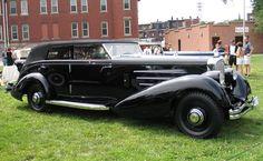 1937 Duesenberg Rollston Sport Convertible Sedan