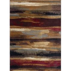 Tayeb Brown/Beige Area Rug