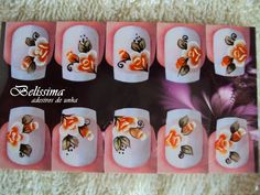 Adesivos para Unhas - Belíssima: 2015-65