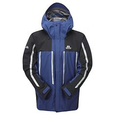Mountain Equipment M KONGUR MRT JACKET, Navy - Black - Free Shipping starts at 60£ - www.exxpozed.co.uk