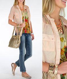 'Georgia Peach'  #buckle #fashion  www.buckle.com