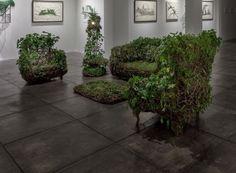 Sala - instalación de arte - por Hannah Chalew