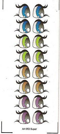 eye charts for the cutest eyes for figures Clay Pot Crafts, Rock Crafts, Doll Eyes, Doll Face, Flower Pot People, Craft Eyes, Cartoon Eyes, Snowman Faces, Eye Painting