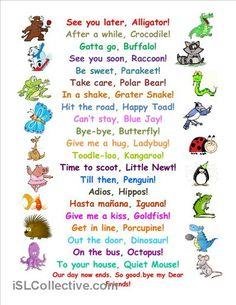 New Funny Work Quotes Teacher Kids Ideas Learning Activities, Kids Learning, Activities For Kids, 4th Grade Activities, Preschool Songs, Kids Songs, Kindergarten Songs, The Words, Teaching English