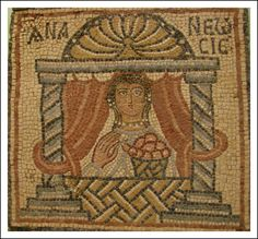 https://flic.kr/p/5EUCMx   Byzantine Mosaic 6th century Qsar Libya   5528