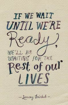 Wise Words to Live By | #LifeQuote on the subject of #Waiting | from Robert Spadinger - Google+