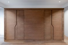 pott architects renovate historic villa with new bespoke interior in heringsdorf, on the island of usedom, germany - designboom Wardrobe Door Designs, Wardrobe Design Bedroom, Wardrobe Doors, Built In Wardrobe, Closet Doors, Hall Wardrobe, Bedroom Door Handles, Wardrobe Handles, Bedroom Cupboard Designs