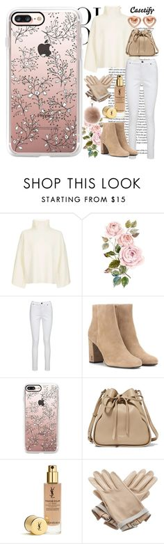 """Cold, but Beautiful ❄️"" by casetify ❤ liked on Polyvore featuring Oui, Topshop, Joe Browns, Yves Saint Laurent, Casetify, Nina Ricci, Hermès and Marc by Marc Jacobs"