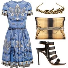 A fashion look from May 2014 featuring colorful dresses, black sandals and metallic clutches. Browse and shop related looks. Middle Eastern Fashion, Shoe Bag, Polyvore, Shopping, Collection, Dresses, Design, Women, Vestidos