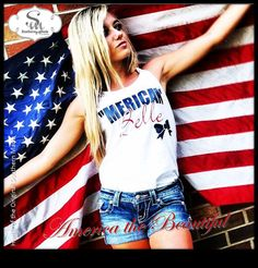 Comfort Color  MERICAN BELLE Tanks by SouthernMadeShirts on Etsy, $24.00