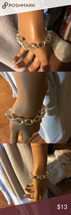 Silver Bracelet. Cute bracelet for a dainty wrist. Sterling Silver Jewelry Bracelets