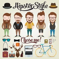 Format : Eps Size : 0.8 Mb Author : dryopus Once you download Hipster Character…