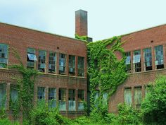 Abandoned School Building - East Atlanta by swampzoid, via Flickr