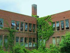 Abandoned School Building - East Atlanta by swampzoid, via Flickr