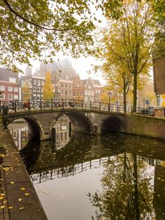Autumn Fog in Amsterdam