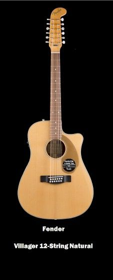 Fender  Villager 12-String Natural This guitar has unbelievable sound quality Check it out at http://rk1719.wix.com/i-spot-gtr #guitar, #music instruments