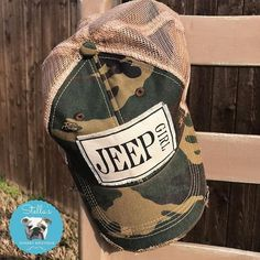 """dc3a6f6f Stella's Shabby Boutique 🐶 on Instagram: """"Are you a Jeep Girl? Get ready  for spring & Jeep hair with this adorable distressed Camo hat!"""