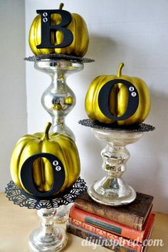 Easy Pumpkin Halloween Decoration- 15 minute craft