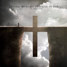 """Not perfect? No Problem. -- 1 Peter 3:18 """"For Christ also suffered once for sins, the righteous for the unrighteous, to bring you to God. He was put to death in the body but made alive in the Spirit."""""""
