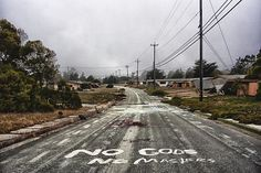 """""""No Gods No Masters"""". Ghost town in California. Urbex."""