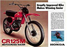 1976 Honda CR125M Elsinore Brochure