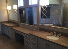 Pro #478806 | Panhandle Quartz Fabricators | Amarillo, TX 79106 Updated Kitchen, New Kitchen, Amarillo Tx, Double Vanity, Kitchen Remodel, Countertops, Quartz, Mirror, Furniture