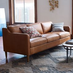 Hamilton Leather Sofa | west elm