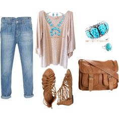DENIM, created by linda-dickey on Polyvore