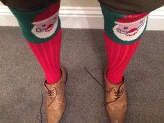 Rocking the socks! - our Santa Specials http://www.shootingsocks.co.uk/father-christmas-shooting-socks