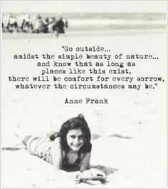 anne frank quotes of nature inspirational nature quotes forest quotes nature poem