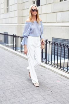 Fashion Jackson, Business Casual Outfits, Trends, Beauty Make Up, Real Women, Fashion Pants, Wide Leg Pants, Outfit Of The Day, Girls
