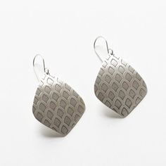 Moroccan earrings with old world pattern by bluehourdesigns, $40.00