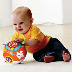 VTech Crawl and Learn Lights Ball Ball Lights, Hula, Bean Bag Chair, Learning, Toys, Children, Baby, Decor, Activity Toys