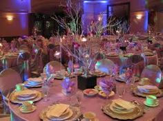 Water Crystal/Floralyte Centerpiece